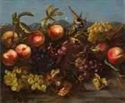 Sale 8538 - Lot 591 - Albert Jacquemart (1808 - 1875) - Still Life 45.5 x 56cm