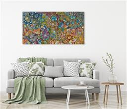 Sale 9128A - Lot 5053 - Janet Golder Kngwarreye (1973 - ) - Yam Dreaming 176 x 92.5 cm (stretched and ready to hang)