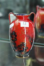 Sale 8086 - Lot 12 - Royal Doulton Sung Double Handled Vase by Charles Noke