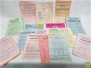 Sale 8900 - Lot 27 - Collection of Mostly Rail Ephemera, etc