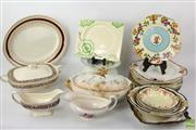 Sale 8581 - Lot 91 - Clarice Cliff Dish Together with Other Wares inc Crown Derby and Royal Staffordshire