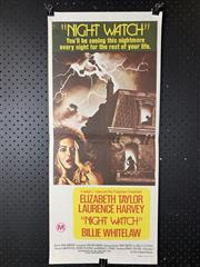 Sale 9003P - Lot 21 - Vintage Movie Poster - Night Watch