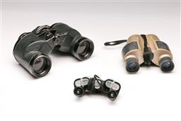 Sale 9119 - Lot 45 - A cased Mt Fuji binoculars together with 2 others