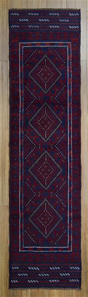 Sale 8566C - Lot 49 - Persian Baluchi Runner 235cm x 60cm