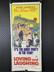 Sale 9003P - Lot 22 - Vintage Movie Poster - Loving and Laughing