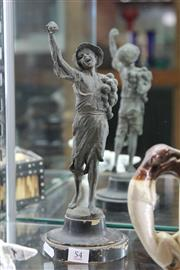 Sale 7989 - Lot 54 - Turn of the Century Spelter Figure of Boy Depicting Harvest