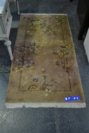Sale 8031 - Lot 1054 - Brown Toned Oriental Carpet (180 x 90 cm)