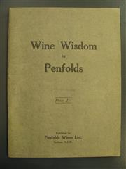 Sale 8340A - Lot 734 - Wine Wisdom by Penfolds, pub. Penfolds Wine Ltd. Sydney NSW; includes several embossed labels