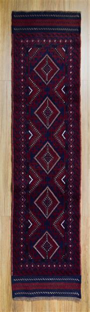 Sale 8566C - Lot 50 - Persian Baluchi Runner 270cm x 60cm