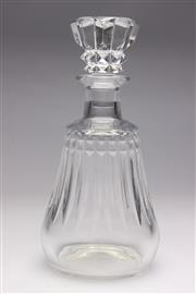 Sale 8694 - Lot 51 - Baccarat Whiskey Decanter