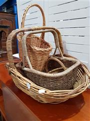 Sale 8740 - Lot 1111 - Collection of Wicker Baskets