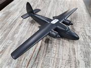Sale 8809B - Lot 640 - Vintage Recognition Silhouette Spotter Aircraft Model of PEMBROKE C. MK.1, metal, as new in box (wingspan 27cm)
