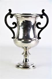 Sale 8877 - Lot 6 - Early 20th Century Hallmarked Sterling Silver Trophy/Chalice