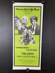 Sale 9003P - Lot 23 - Vintage Movie Poster - The Heist