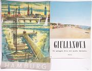 Sale 9010D - Lot 765 - A group of four vintage travel posters including Italy (some wear)
