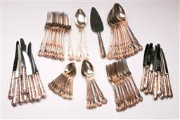 Sale 9122 - Lot 21 - Large Collection of Kings Pattern Silverplated Cutlery