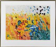 Sale 8068A - Lot 4 - John Perceval (1923 - 2000) - Swy Game 70 x 90 cm,