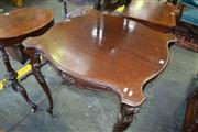 Sale 8093 - Lot 1819 - Late Victorian Mahogany Games Table