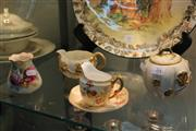 Sale 8296 - Lot 84 - Royal Worcester Vase with Others incl. Sugar & Creamer