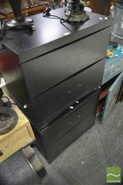 Sale 8338 - Lot 1597 - Pair of 2 Drawer Bedside Cabinets