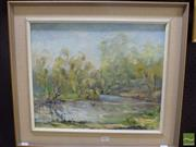 Sale 8525 - Lot 2081 - Barbara Taylor - Quiet Day 37 x 44.5cm