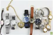 Sale 8586 - Lot 153 - Group of Assorted Ladys and Gents Watches