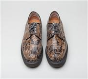 Sale 8740F - Lot 132 - A pair of Purified x George Cox faux-python creepers, English made, approx size 40