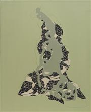 Sale 8708A - Lot 506 - Natalya Hughes (1977 - ) - Untitled (Camouflage) 62 x 50cm