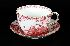 Sale 3803 - Lot 662 - A ROYAL CROWN DERBY OVERSIZED CUP AND SAUCER