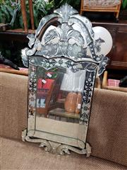 Sale 8769 - Lot 1066 - Venetian Style Mirror, missing one section