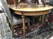 Sale 8817 - Lot 1039 - French Style Oval Dining Table