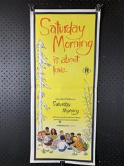 Sale 9003P - Lot 25 - Vintage Movie Poster - Saturday Morning is about Love