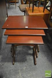 Sale 8350 - Lot 1068 - G-Plan Nest of Three Tables