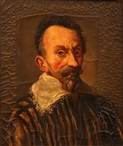 Sale 8606 - Lot 591 - Artist Unknown - A C17th Style Portrait of a Bearded Gentleman 54 x 45cm