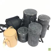Sale 8648A - Lot 24 - Collection Of Camera And Lens Cases