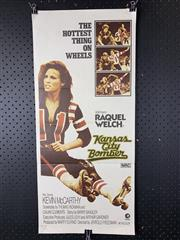 Sale 9003P - Lot 26 - Vintage Movie Poster - Kansas City Bomber starring Raquel Welch