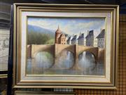 Sale 8914 - Lot 2045 - Barbara Elliot - French Reflections, Southern France oil on board, 62 x 78cm, signed