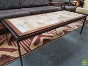 Sale 8435 - Lot 1015 - Danish 1970s Marble Top Coffee Table