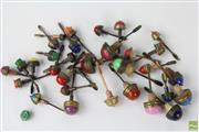 Sale 8563 - Lot 101 - Collection of Snuff Bottle Stoppers