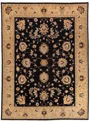 Sale 8715C - Lot 4 - An Afghan Chobi Naturally Dyed In Hand Spun Wool, Very Suitable To Australian Interiors, 366 X 270Cm
