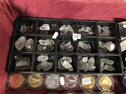 Sale 8797 - Lot 2422 - Tray of Quartz Crystals