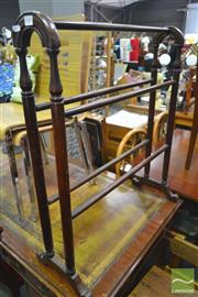 Sale 8277 - Lot 1048 - Timber Towel Rail