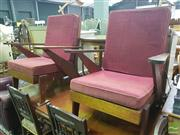 Sale 8495F - Lot 1015 - Pair of Fred Ward? Lounge Chairs