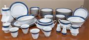 Sale 8562A - Lot 53 - A Noritake Meastro Blue part dinner and coffee service