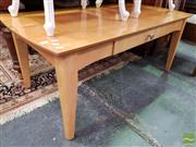 Sale 8469 - Lot 1092 - Timber Coffee Table with Single Drawer