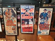 Sale 8707 - Lot 2048 - Set of (3) Movie Poster Bills: The Shadow; Chick Carter, Detective, Holt of the Secret Service, colour lithographs