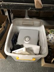 Sale 8759 - Lot 2376 - Tub of Electricals