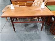 Sale 8908 - Lot 1038 - Danish Teak Extension Coffee Table