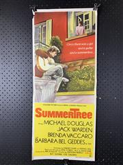 Sale 9003P - Lot 30 - Vintage Movie Poster - Summer Tree starring Michael Douglas