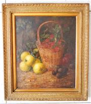 Sale 8312A - Lot 78 - Vincent Clare, British School 19th Century - Still Life 30 x 26 cm
